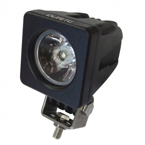Square 1 LED Flood Lamp - Spot Beam (Black)