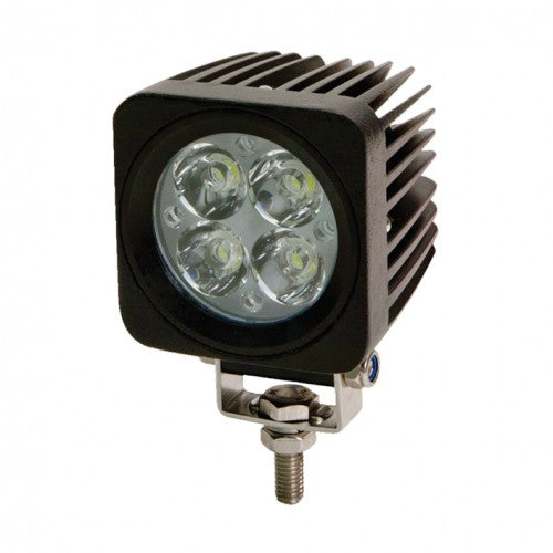 Square 4 LED Flood Lamp - Flood Beam