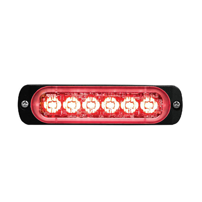 Super Thin 6-way LED Modules (ST6) Red
