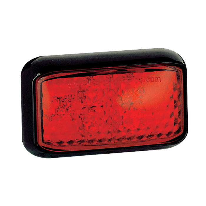 Front and Rear Outline Marker Lamps (Red)