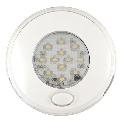 Small Round Switched LED Interior Lamp