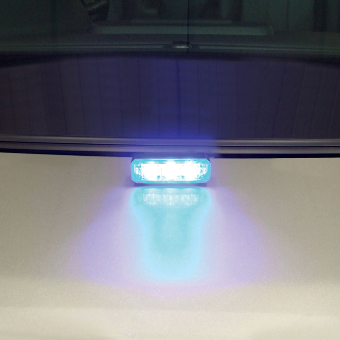 Mini Stealth - 3-way Flush Fit (Hood Mount) LED Modules (MS3BH)