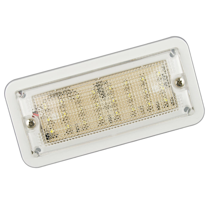 Compact Rectangle LED Interior Lamp