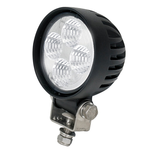 Round 4 LED Work Lamp - Flood Beam