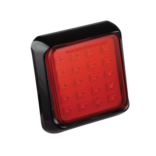 Square Fog Lamp (Black)