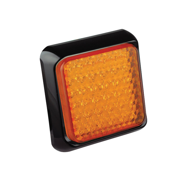 Square Indicator Lamp (Black)
