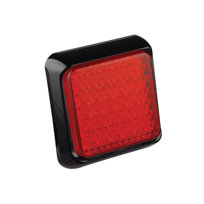 Square Stop/Tail Lamp (Black)