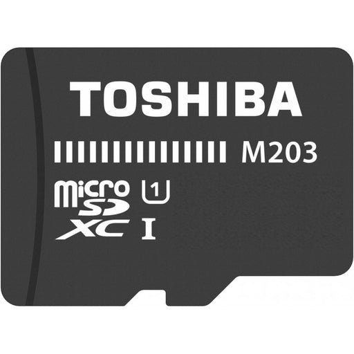 Toshiba MicroSD with SD Adapter