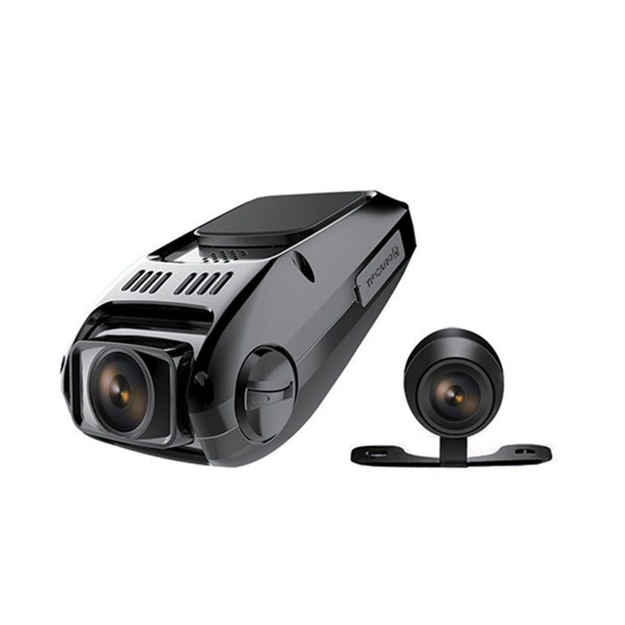 "1.5"" Full HD Dual Dash Camera with GPS"