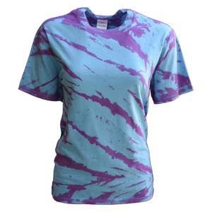 SHORT SLEEVE TIE DYE SHIRT
