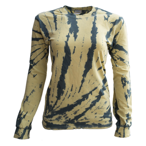 BUMBLE BEE BOTTOM SIDE BEAMS L/S T-SHIRT - USA TIEDYE COMPANY