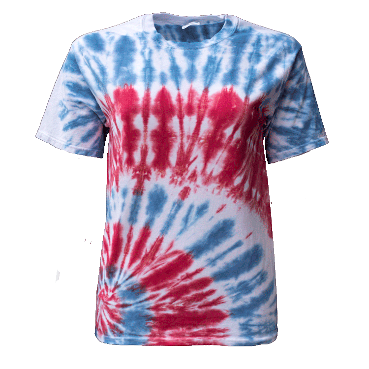USA BOTTOM SIDE BEAMS S/S T-SHIRT - USA TIEDYE COMPANY