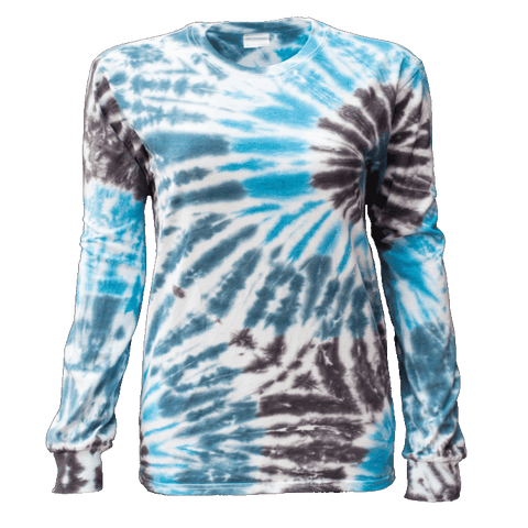 TYPHOON DOUBLE TWIST FOLD L/S T-SHIRT - USA TIEDYE COMPANY