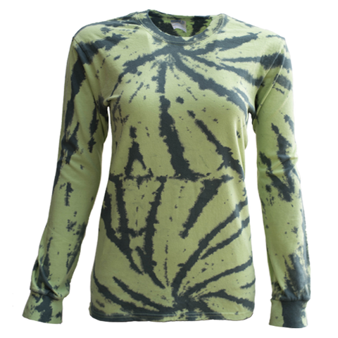 USA TIEDYE Cotton Long Sleeve T-shirts Youth and Adult sizes.