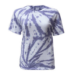PURPLE PASSION DOUBLE TWIST S/S T-SHIRT - USA TIEDYE COMPANY