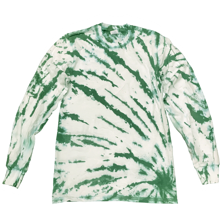 GRASSLANDS REVERSE BOTTOM SIDE BEAMS L/S T-SHIRT - USA TIEDYE COMPANY