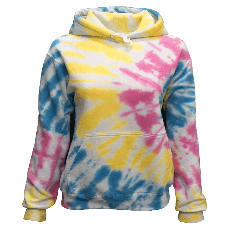MULTI BLAST SIDE BEAMS HOODIE - USA TIEDYE COMPANY