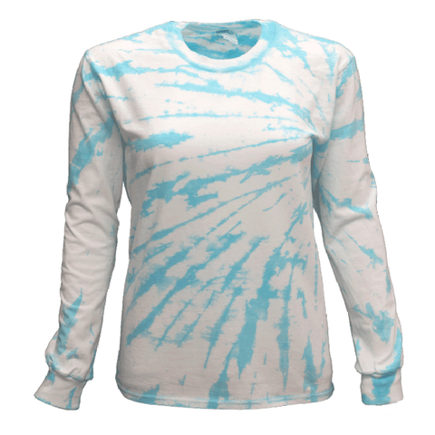 LIGHT RAIN SIDE BEAMS L/S T-SHIRT - USA TIEDYE COMPANY