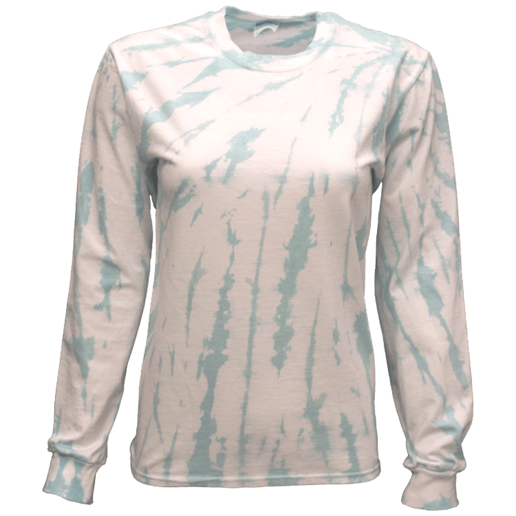FROST TOP SIDE BEAMS L/S T-SHIRT - USA TIEDYE COMPANY