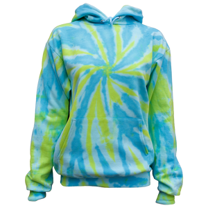 USA TIEDYE Cotton hooded sweatshirts Youth and Adult sizes.