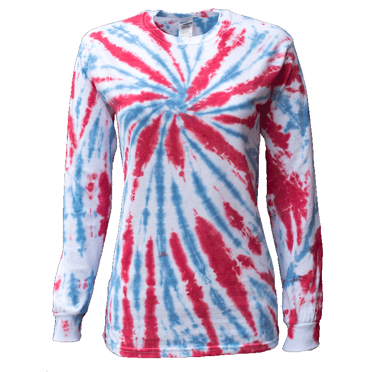 USA TWISTER L/S T-SHIRT - USA TIEDYE COMPANY