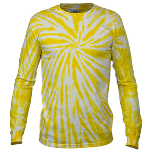 SUNSHINE TWISTER L/S T-SHIRT - USA TIEDYE COMPANY