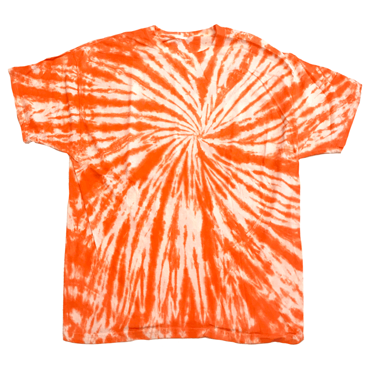 ORANGE TWISTER S/S T-SHIRT - USA TIEDYE COMPANY