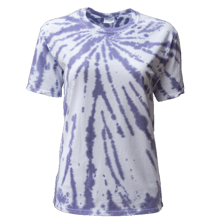 PURPLE PASSION UPPER BEAMS S/S T-SHIRT - USA TIEDYE COMPANY