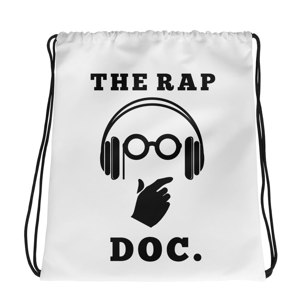 """THE RAP DOC."" Drawstring Bag"