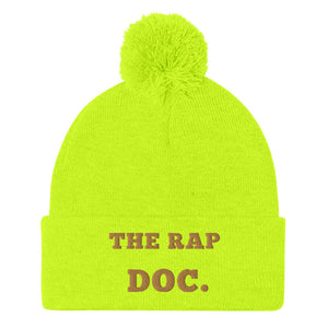 """THE RAP DOC."" Pom Beanie"