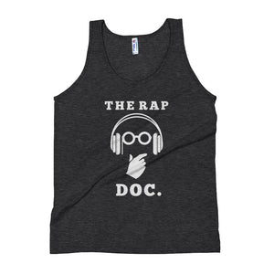 """THE RAP DOC."" Unisex Tank Top"