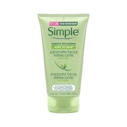 Sabonete Líquido Facial Simple Refrescante 150ml