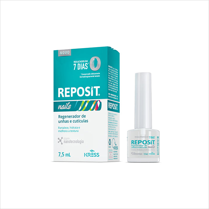 Regenerador De Unhas E Cutículas Kress Reposit Nails 7,5ml