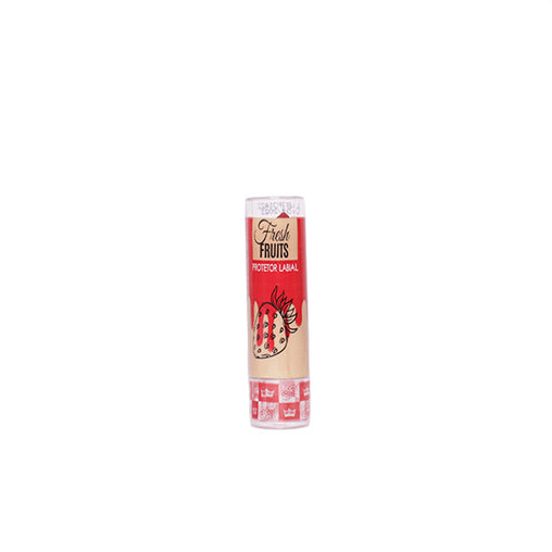Protetor Labial Queen Fashion Fresh Fruits Morango
