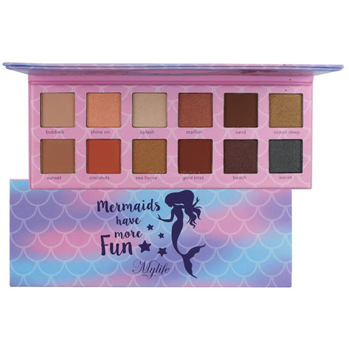 Paleta de Sombras My Life Mermaids Have More Fun