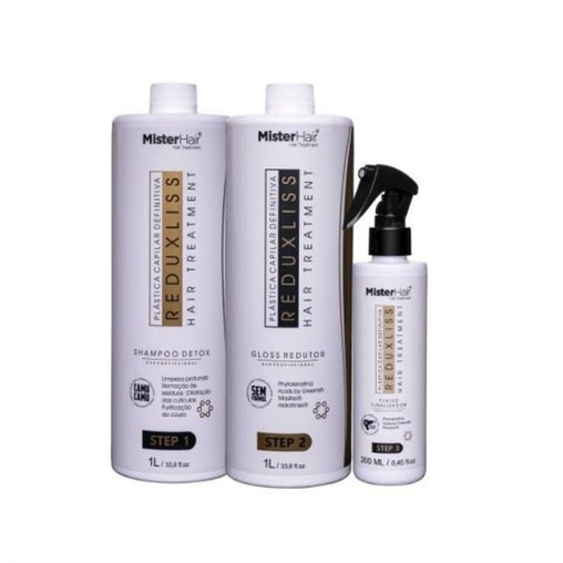 Kit Progressiva Orgânica Mister Hair Reduxliss