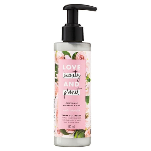 Creme de Limpeza Love Beauty And Planet Manteiga de Murumuru & Rosa 190g