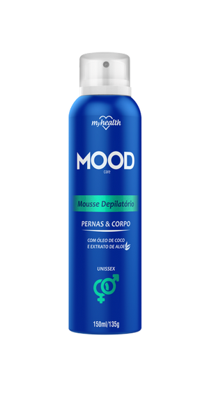 Mousse Depilatório Aerosol My Health Mood 150ml
