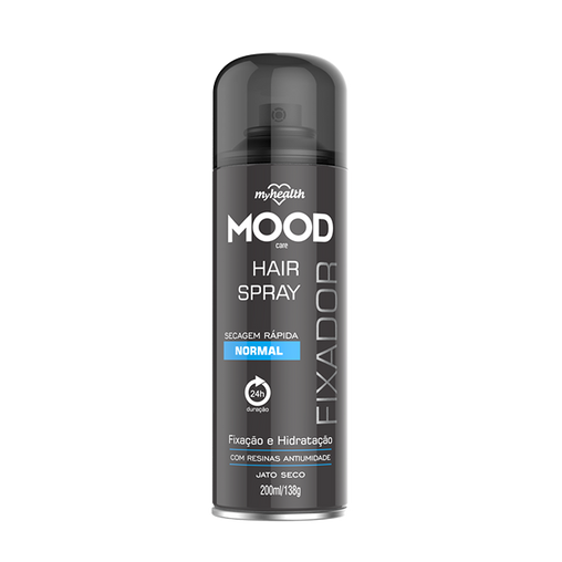 Spray Fixador Aerosol My Health Normal Mood 200ml