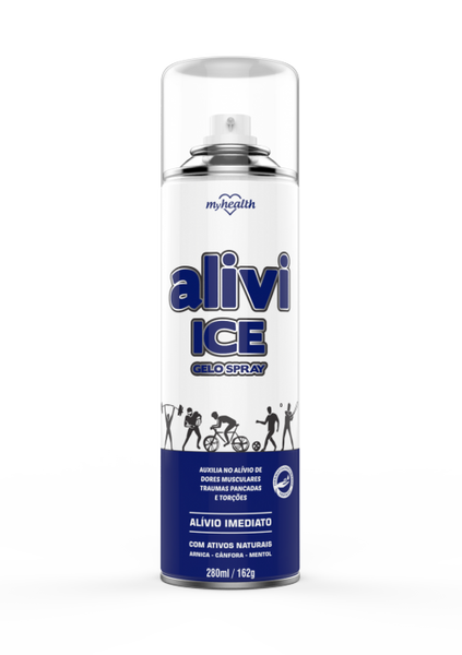 Spray Gelo My Health Alivi Ice 280ml