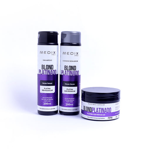 Kit Blond Platinador Medix