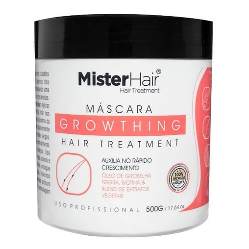 Máscara Mister Hair Growthing Hair 500g