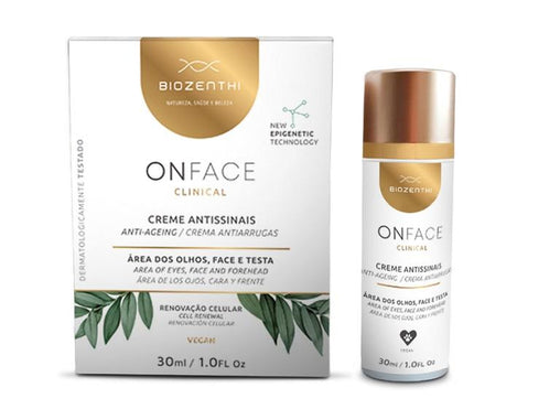 Creme Antissinais Biozenthi Onface 30ml