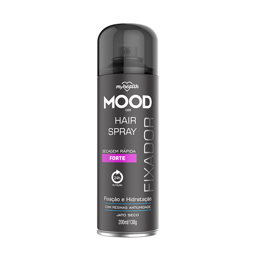 Spray Fixador Aerosol My Health Forte Mood 200ml