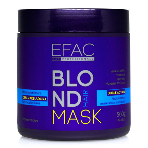 Máscara Matizadora EFAC Blond Hair 500g