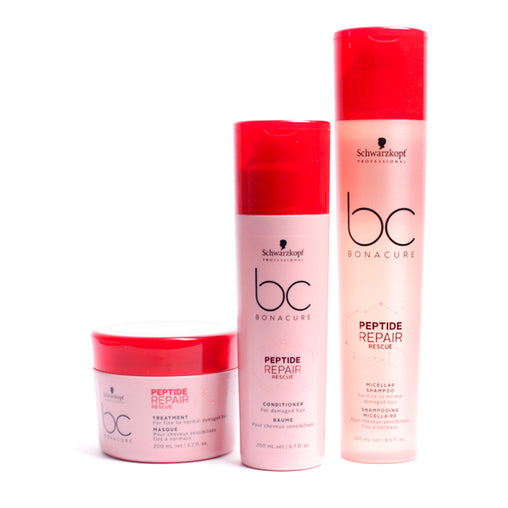 Kit Bonacure Peptide Repair Rescue