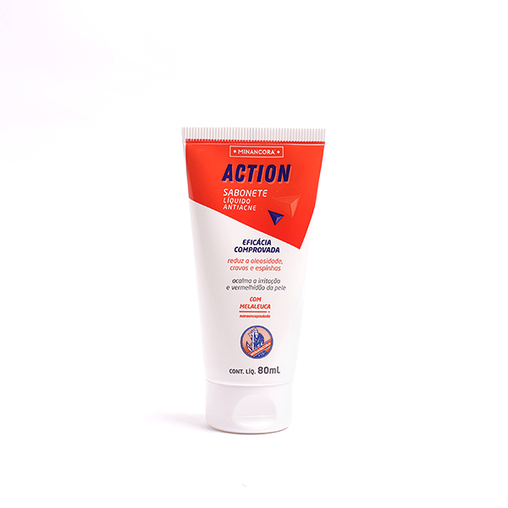 Sabonete Líquido Antiacne Minancora Action 80ml