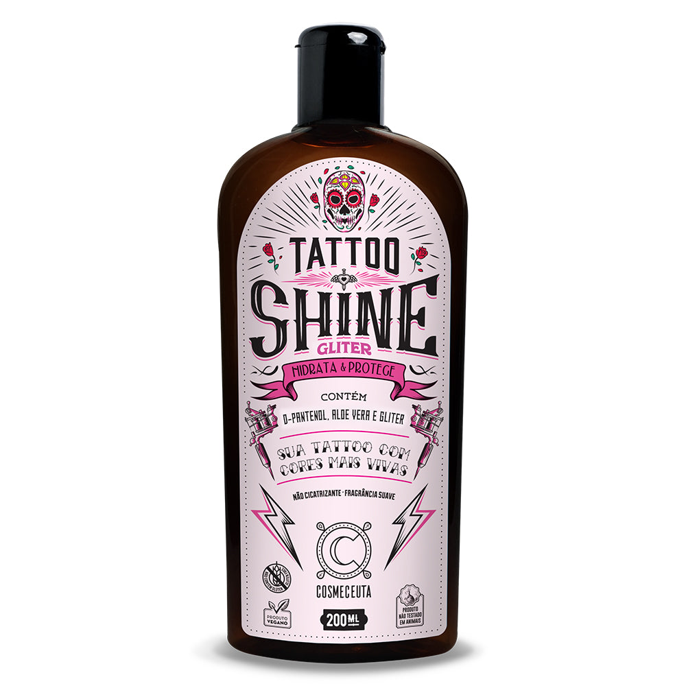 Loção Deo Tatto Cosmeceuta Shine Gliter 200ml