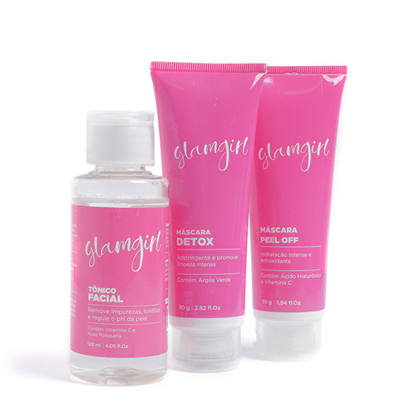 Kit Glamgirl Máscara Facial