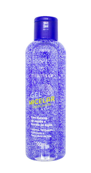 Gel Micelar Esfoliante Facial MiaMake 100ml